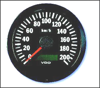 speedometer and gps sender gps senders speedometers vdo speedometers