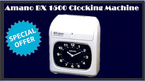 clocking machine specials