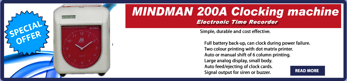MINDMAN 200A Clocking machine